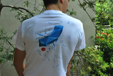 Rizn T-shirt small Back