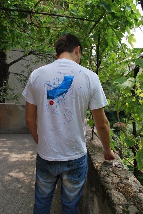 Rizn T-shirt large back