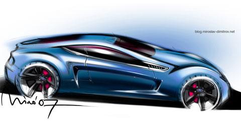 Дизайн на Форд от Мирослав Димитров