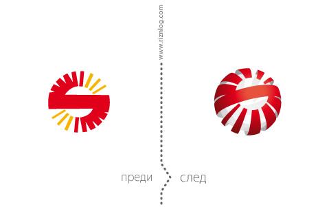 Лого редизайн на Сектрон