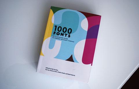 1000 Fonts - Илюстрован пътеводител в света на шрифтовете