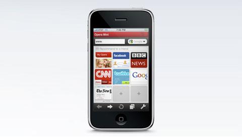 Opera mini 7 mobile